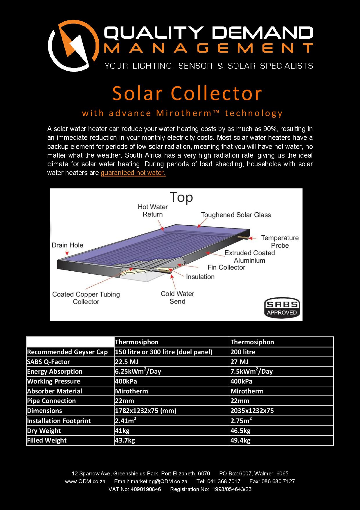 Solar Collector Specs-page-001